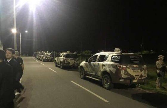 Foram expedidos 53 mandatos judiciais no Ceará, sendo 18 de prisão e 35 de busca (FOTO: Divulgação/ SSPDS)