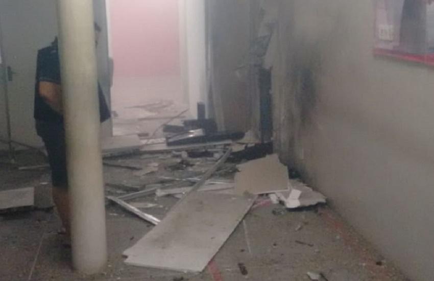 Agência bancária é atacada por quadrilha em Graça, no Norte do Ceará