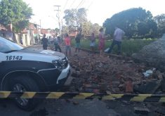 O caso aconteceu por volta das 14h desta sexta-feira (FOTO: Emanuella Braga/ TV Jangadeiro)
