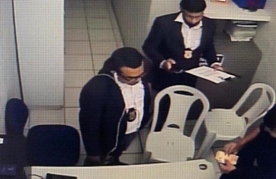 A dupla apresentou um documento forjado, assinado pelo Ministro do Supremo Tribuna de Justiça (FOTO: Luciana Lemos/ TV Jangadeiro)