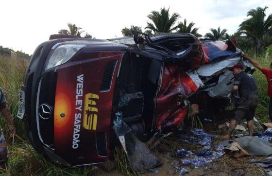 O acidente aconteceu no Maranhão (FOTO: PRF/MA)