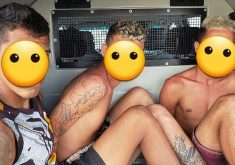 O trio de traficantes de drogas integrava uma facção criminosa (Reprodução Instagram)