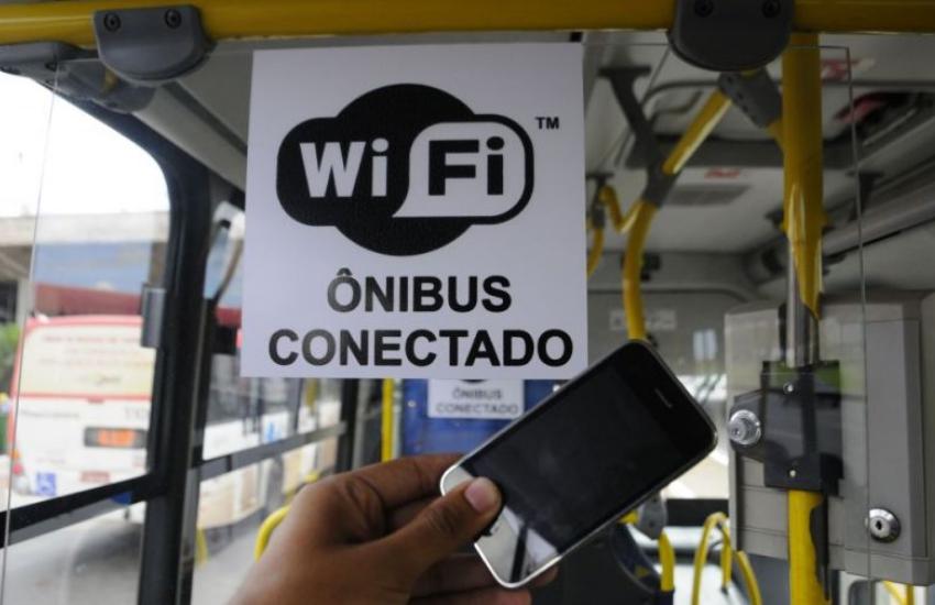 Sinal de Wi-Fi está fora do ar em diferentes linhas de ônibus de Fortaleza
