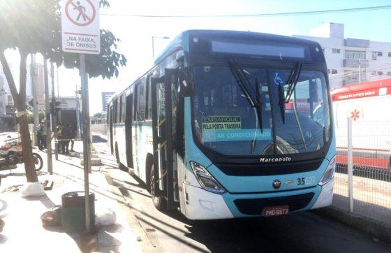 O convênio foi assinado entre o TJCE e o Sindiônibus (FOTO: Cristiano Pantanal/TV Jangadeiro)