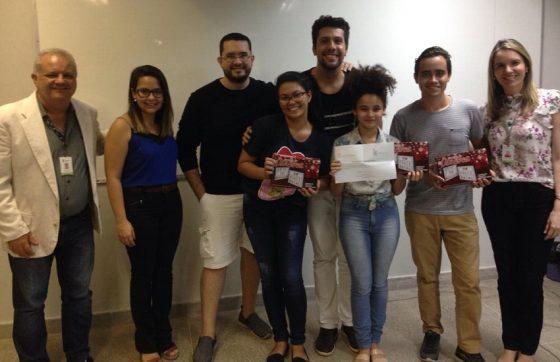 Hanna Braz, Aparecida Araújo e Wlisses Carvalho agora receberão mentoria da Incubadora do IFCE (FOTO: Divulgação)
