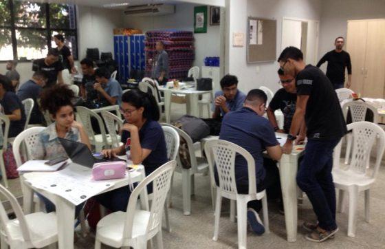 A ideia da aplicativo surgiu durante a maratona de ideias empreendedora no IFCE (FOTO: Divulgação)