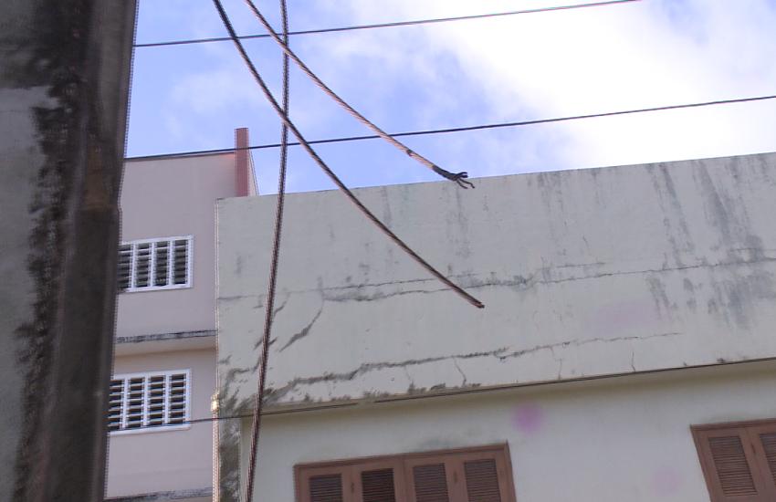 Moradores reclamam de constantes furtos a fios de energia elétrica na Aldeota