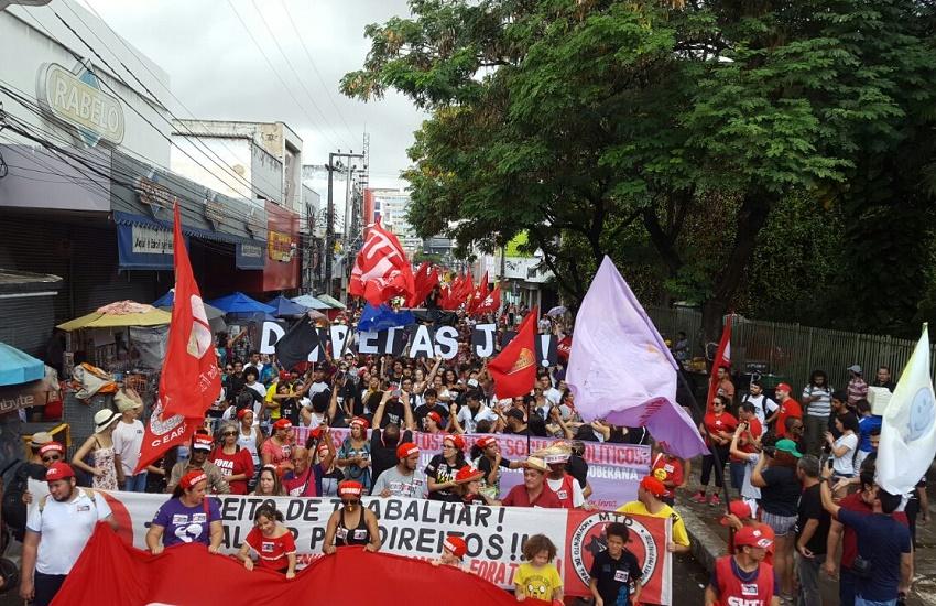Os manifestantes também protestarão contra a campanha publicitária da Reforma da Previdência (FOTO: Arquivo)