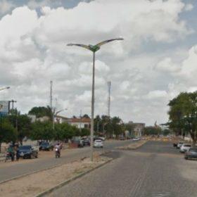 A travesti foi assassinada em Horizonte (FOTO: Google Maps)