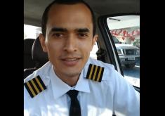 Tiano sonha em ser piloto de avião há 10 anos (FOTO: Reprodução Facebook)