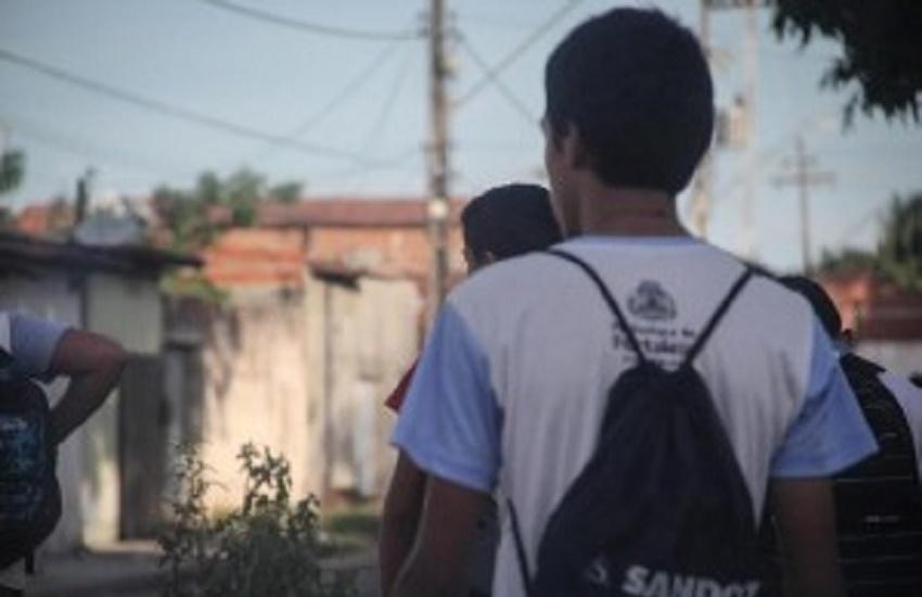 Quase metade das crianças e adolescentes de Fortaleza não se sente segura na escola
