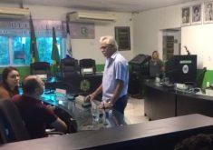 Câmara aprova por unanimidade a cassação de José Hilson de Paiva foi cassado (FOTO: Abraão Ramos/TV Jangadeiro)