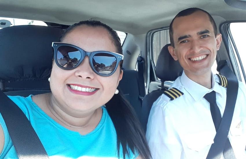 Motorista de app que sonha em ser piloto ganha bolsa de estudo para curso de aviação