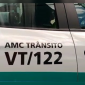 Duas viaturas com câmeras instaladas circulam em Fortaleza (FOTO: Reprodução/Whatsapp)
