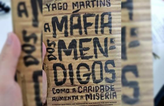 Yago Martins escreveu o livro com base em sua experiência nas ruas de Fortaleza (FOTO: Reprodução/Twitter)