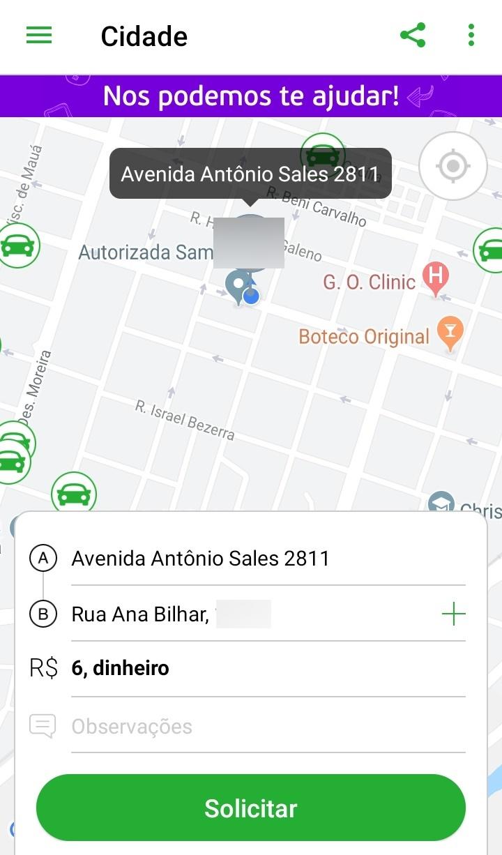 Testamos o app In Driver