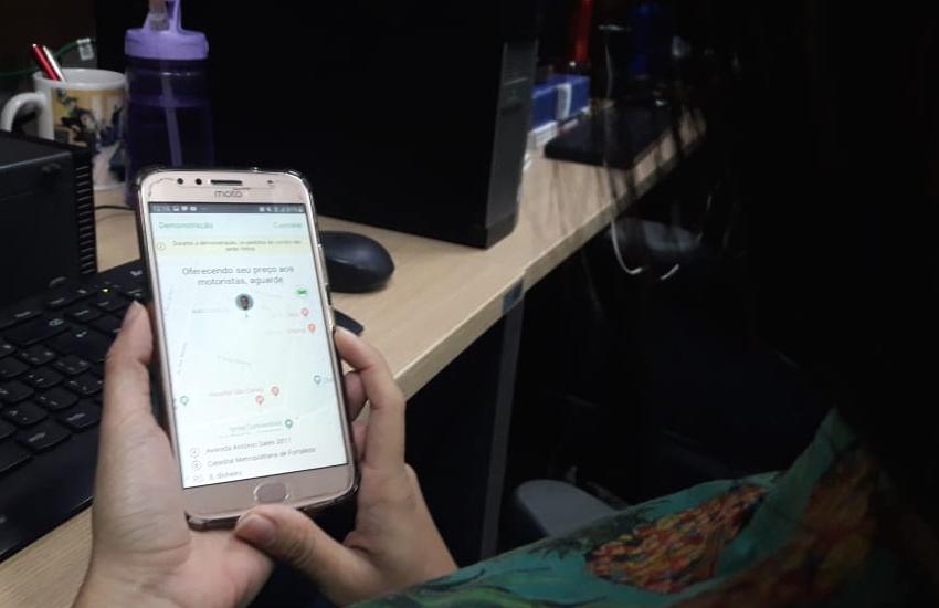 Chega a Fortaleza app de transporte em que o passageiro define o valor da corrida
