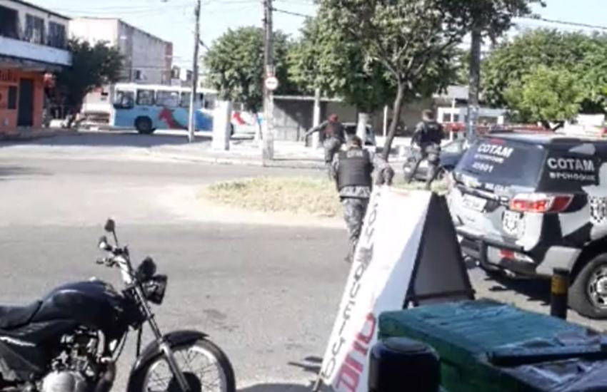 Mulher perde um rim ao ser atingida por bala perdida durante perseguição policial