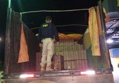 A ação aconteceu na cidade de Milagres, interior do Ceará (FOTO: Divulgação/ PRF)