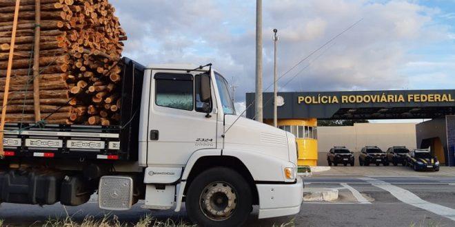 O motorista portava drogas para consumo, apresentou documento falso e foi detido (FOTO: Divulgação/ PRF)