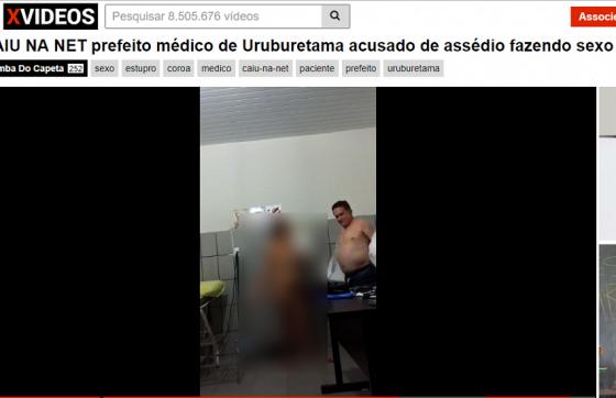 O mesmo vídeo aparece diversas vezes no mesmo site (FOTO: Reprodução/Internet)