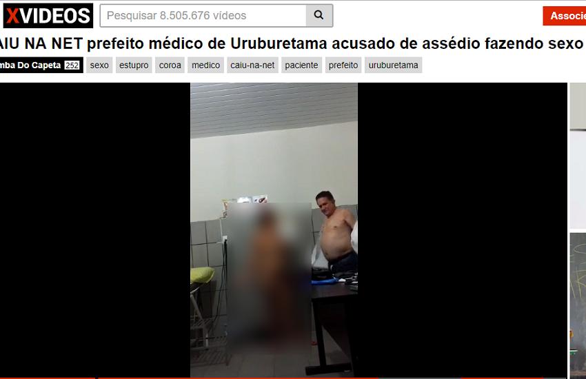 Vídeos do prefeito de Uruburetama fazendo sexo em consultórios são publicados em site pornô