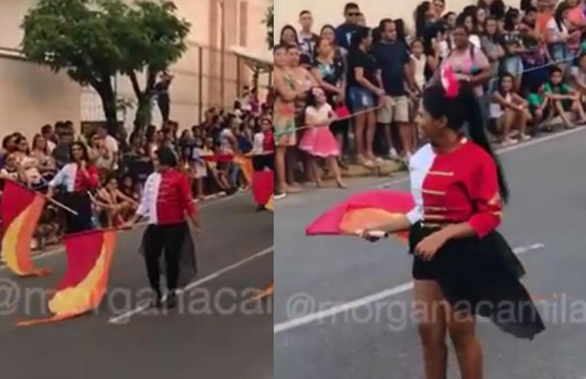 7 de Setembro ou Carnaval? Desfile de Maranguape dá mais um show à parte