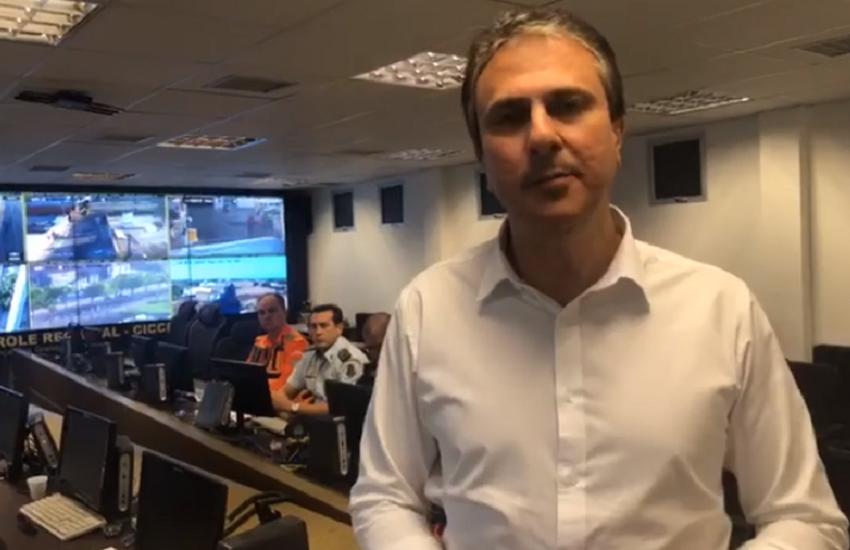 Camilo Santana conversa com Ministro Sérgio Moro sobre reforço de tropas federais no Ceará