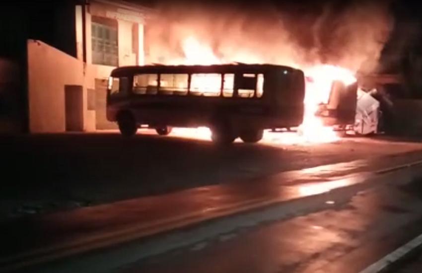 Nova onda de ataques no Ceará chega ao 5º dia, com mais incêndios criminosos