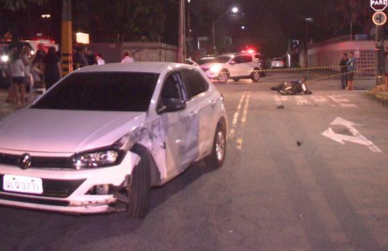 Atropelamento aconteceu na noite de sexta-feira (FOTO: Reprodução/TV Jangadeiro)