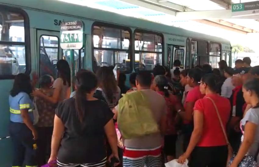 Frota de ônibus opera com 70% da capacidade em Fortaleza no 5º dia de ataques