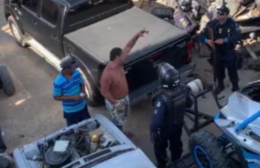 Caso ocorreu em Maranguape (FOTO: Reprodução/Whatsapp)