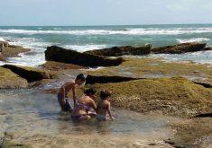 A Semace examinou amostras de água do mar de 35 praias no dia 26 de setembro (FOTO: Divulgação)
