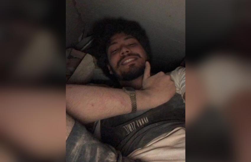 Jovem que fez selfie em escombros escapou de desabamento sem nenhuma fratura