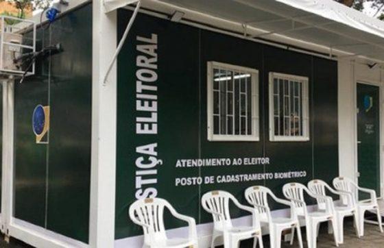 As denúncias foram registradas no posto de atendimento do Parque das Crianças, no Centro de Fortaleza (FOTO: Reprodução/TRE)