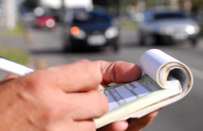Multas de trânsito podem ser convertidas em advertências por escrito