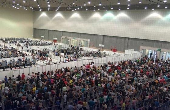 O mutirão do TRE já atendeu mais 46 mil pessoas em nove dias (FOTO: Divulgação/Tribunal Regional Eleitoral do Ceará)