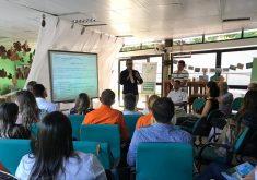O encontro aconteceu no Centro de Referência do Parque Estadual do Cocó (FOTO: Camila Mathias/Tribuna BandNews FM)