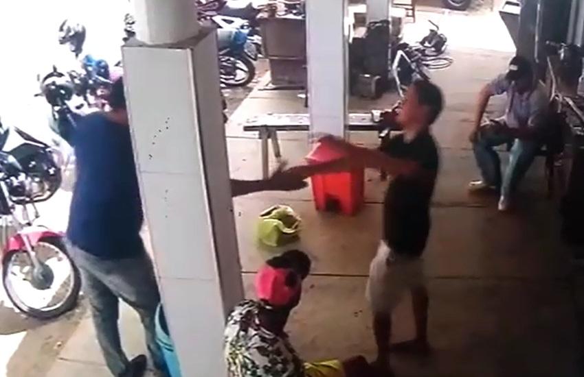 Homem é morto a tiros em frigorífico de Maracanaú; Atirador apertou mão da vítima antes do disparo