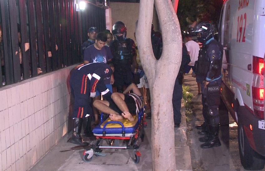 Delegado da PF reage a assalto e atira em suspeito na Varjota