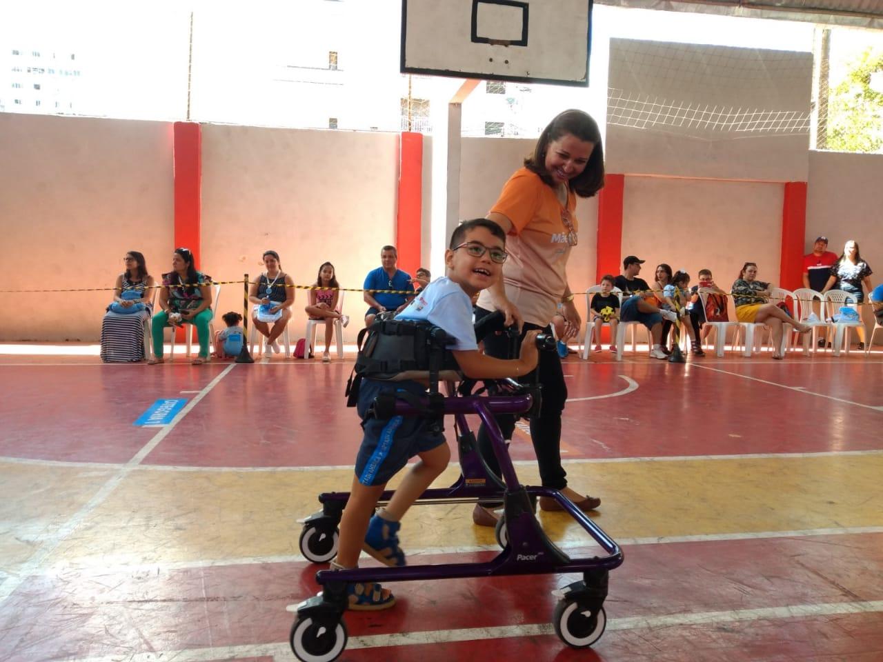 A proposta da iniciativa vai além da atividade física (FOTO: Divulgação)