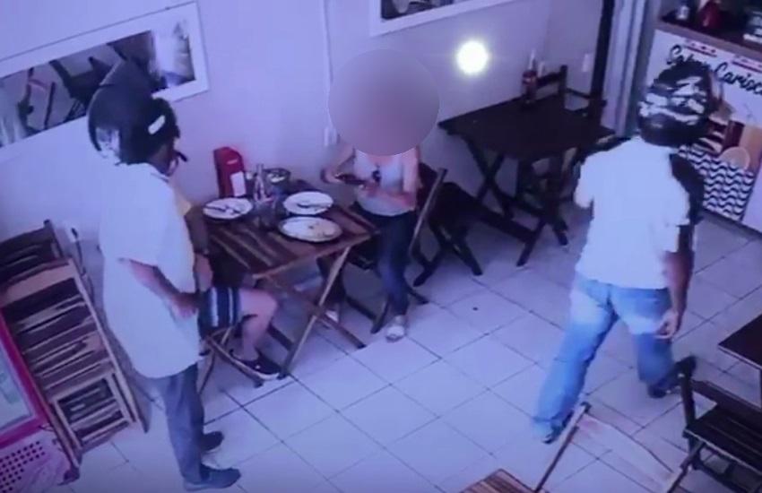 Funcionários e clientes sofrem arrastão em lanchonete de Maracanaú