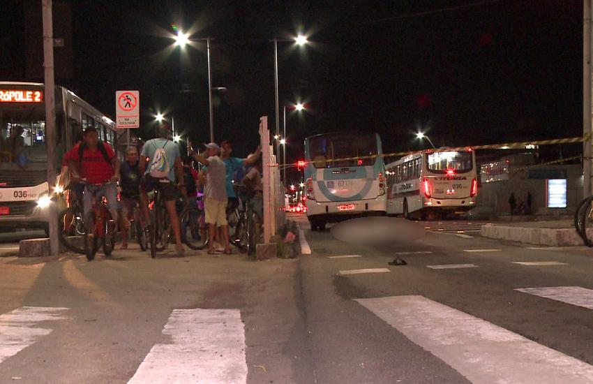 Idoso morre ao ser atropelado em faixa de pedestres na Av Bezerra de Menezes