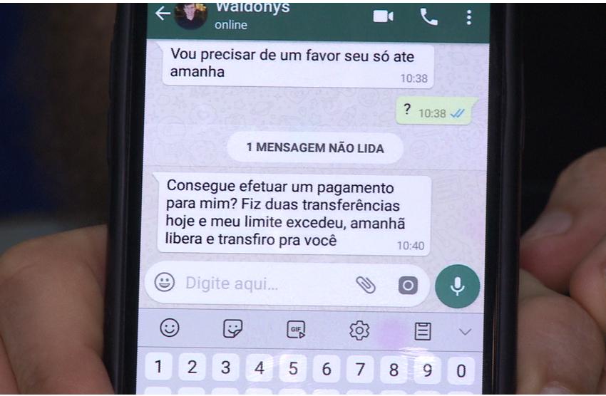 Waldonys tem número de WhatsApp clonado após ligação de golpistas