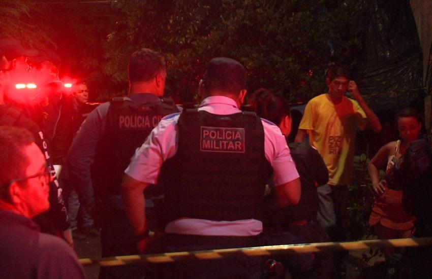 Homem é morto e criança é baleada em confraternização no Vila União