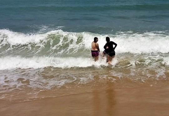 17 praias estão impróprias para banho (FOTO: Divulgação/Semace)