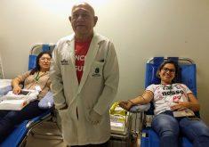 Há 7 anos, a ação social ocorre no HRN com o objetivo de sensibilizar a sociedade para a importância de doar sangue e salvar vidas (FOTO: Divulgação)
