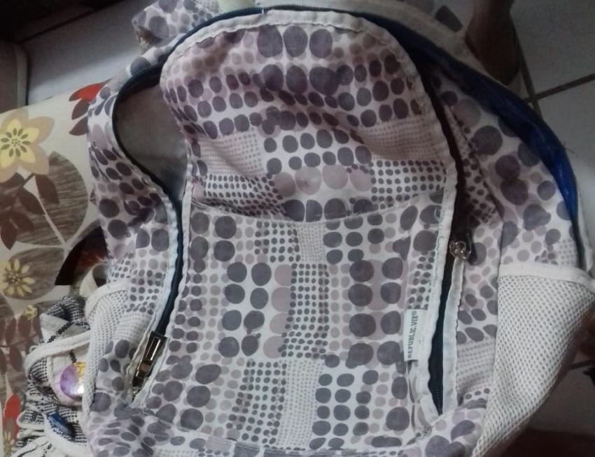 Bebê foi encontrada dentro de bolsa (FOTO: Divulgação)