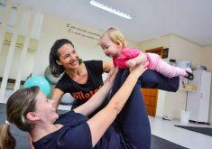 Os exercícios são muito importantes para as mamães e para os bebês (FOTO: Divulgação)