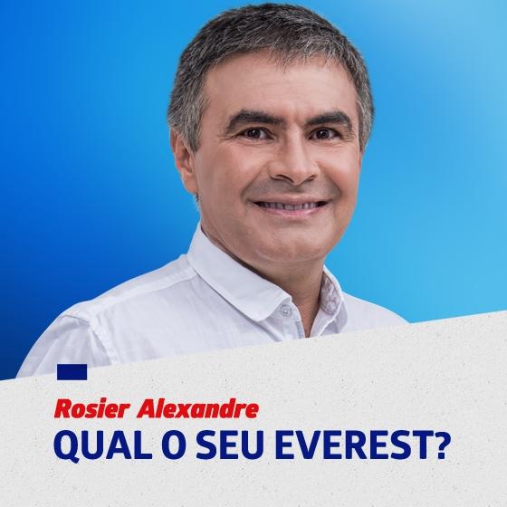"""Rosier Alexandre: """"O caminho para o topo"""""""
